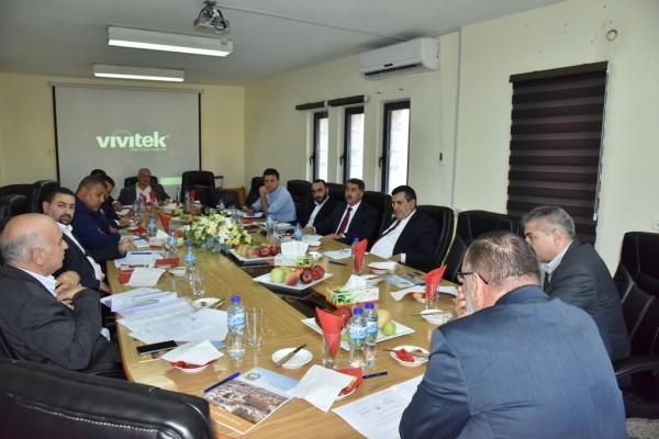 إجتماع للهيئة التنفيذية للإتحاد الفلسطيني للهيئات المحلية ببلدية بيت لحم