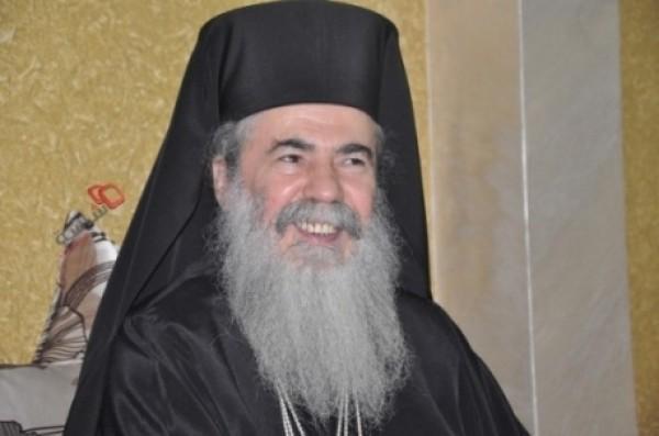 البطريرك ثيوفيلوس يتوجه للعليا الاسرائيلية بشأن قضية باب الخليل