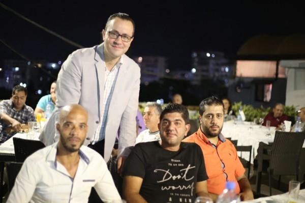 أكاديمية لبنان للتدريب والتطوير تكرم ابن مخيم اليرموك وسيم الوني