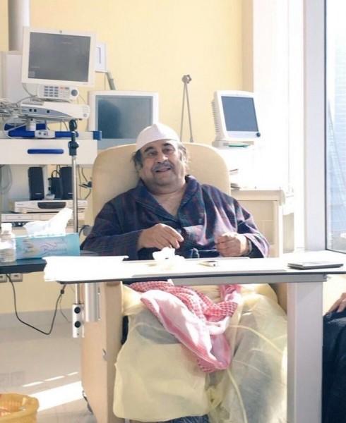 """هذه اخر صورة لصاحب مسلسل أبو الملايين""""عبد الحسين عبد الرضا"""""""