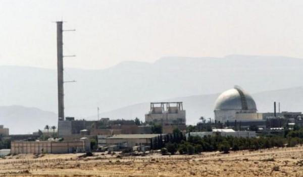 الحكومة الإسرائيلية تنظر في تباطؤ العمل بمفاعل ديمونة النووي