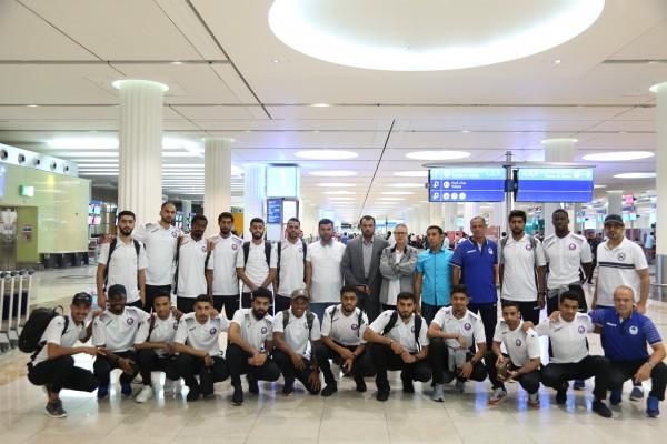 الفريق الأول لكرة القدم لنادي الذيد يغادر لمعسكره في ألمانيا