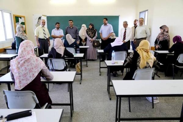 تعليم غزة: 2400 معلم تقدموا لامتحان وظيفة مدير مدرسة