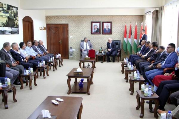 توقيع اتفاقية التعاون العلمي بين محافظة الخليل وجامعة القدس