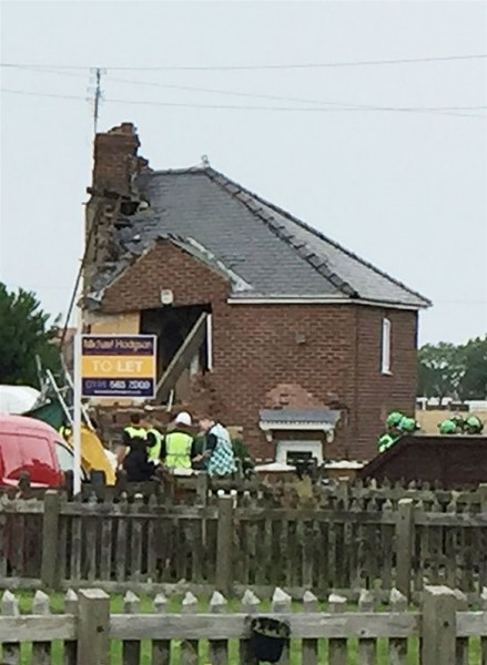 انفجار اسطوانة غاز بالمنزل ..شاهد بالصور ماذا حدث