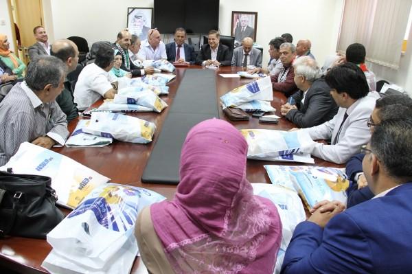 """وزير الصحة: """"البعثة الطبية"""" سترعى حجاج فلسطين في مكة المكرمة"""