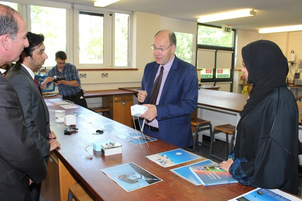 UAE Research Program for Rain Enhancement Science meets with leading researchers in UK