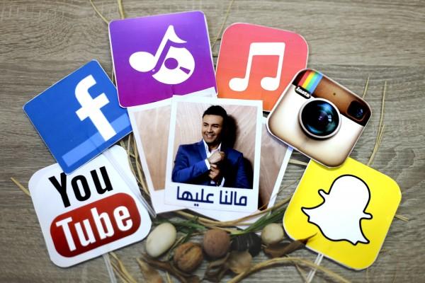 """حاتم إيدار يطلق أغنيته الجديدة """" مالنا عليها """""""