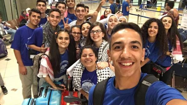 طلاب من غزة يصلون الولايات المتحدة للدراسة بمدارس أمريكية