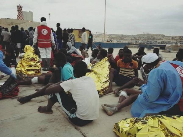المنظمة العربية للهلال الأحمر والصليب الأحمر تدين شبكات المتاجرة بالبشر