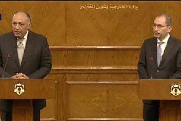 مصر والأردن وفلسطين: على إسرائيل وقف إجراءاتها أحادية الجانب