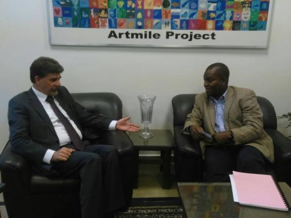 عبد الهادي يبحث مع نائب مدير شؤون الأونروا بسوريا أوضاع اللاجئيين الفلسطينيين