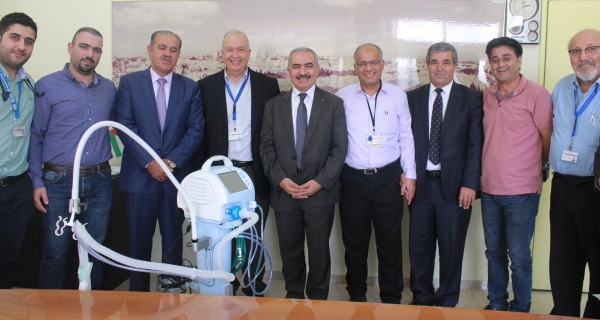 Makassed Inaugurates New Kidney Dialysis Unit & Receives Portable Ventilator from Palestine Insurance Company