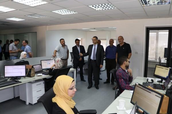 438c83ecc وزير الاتصالات يزور شركة اجزولت تكنولوجيز ويثني على جهودها | دنيا الوطن -  فيديو