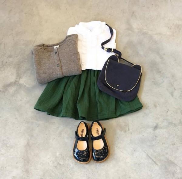 أفكار تنسيق ملابس لصغيرتك في خريف 2017