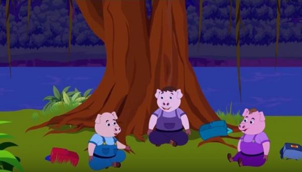 الخنازير الثلاثة