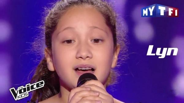 """طفلة لبنانية تبهر""""The voice kids"""" الفرنسي"""