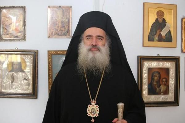 المطران حنا يستقبل وفدا رسميا من الكنيسة الارثوذكسية الصربية