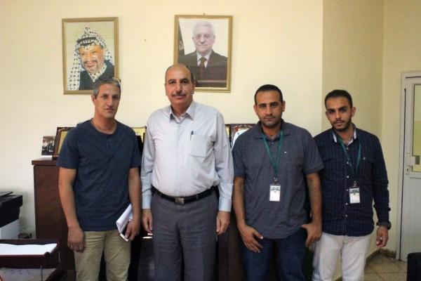 الفريق الوطني للتعداد بمحافظة القدس يلتقي بمديرية التربية والتعليم