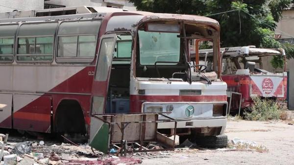 فيديو: موقف غزة القديم.. توقف الزمن واختفى المسافرون