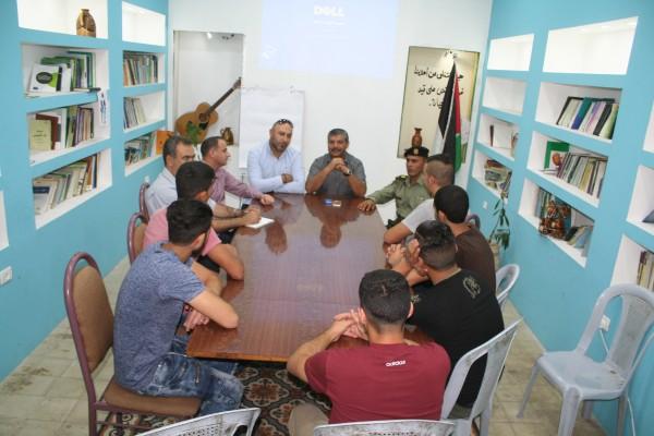 المفوض السياسي لرام الله يلقى محاضرة لنزلاء دار الأمل للرعاية