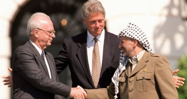 24 عاماً على اتفاقية أوسلو.. إعلان المبادئ الفلسطيني الإسرائيلي