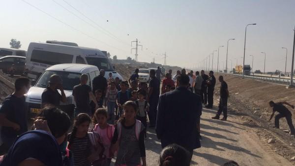 أبو عرار:وزارة المواصلات الاسرائيلية ستفحص اليوم إمكانية فتح المدخل للمدارس