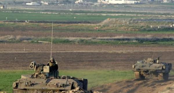 قوات الاحتلال تطلق النار على أراضي المزارعين شرقي خانيونس