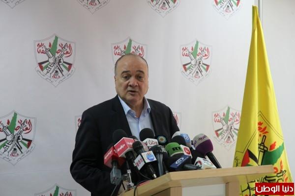 القدوة: لا شرعية لوجود إسرائيل دون وجود دولة فلسطين ونرحب بموقف حماس الأخير