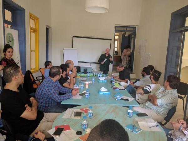 """عتبة فن"""" الفلسطينية شريك استراتيجي في """"مشروع تشبيك"""" الإقليمي بالأردن"""
