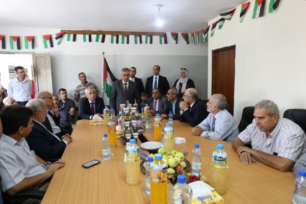 الأعرج يعلن ترفيع مجلس قروي نحالين لبلدية ويثمن صمود أهالي جب الذيب
