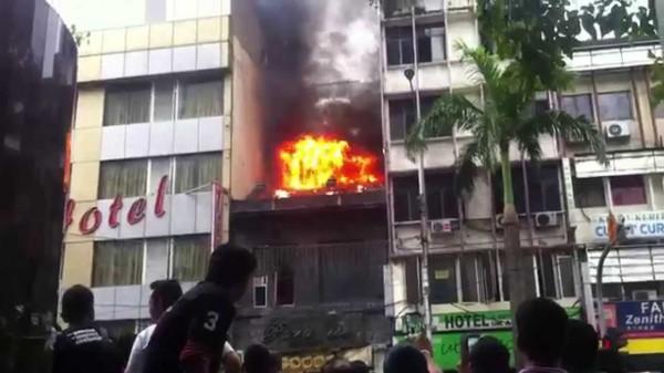 مصرع 25 شخصاً غالبيتهم من الطلاب في حريق بمدرسة بماليزيا