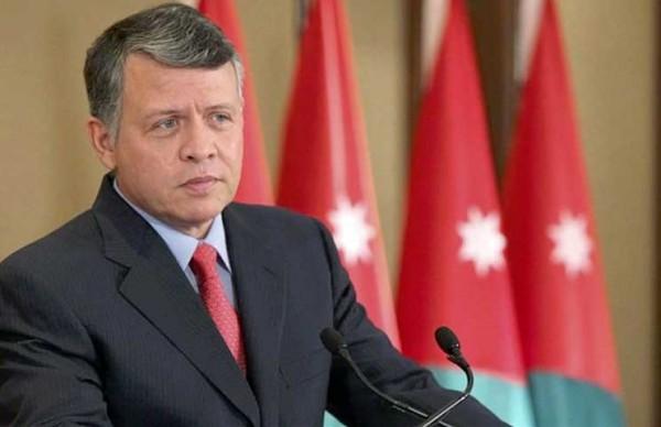 العاهل الأردني: يجب أن تكون عملية السلام وفقاً لحل الدولتين..تواصلي مع السلطة مستمر