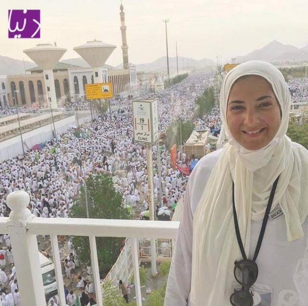 جمهور دنيا سمير غانم غاضب منها بسبب فستانها بعد عودتها من الحج