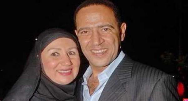 زوجة أشرف عبدالباقي تتخلى عن الحجاب .. وهكذا بدت!