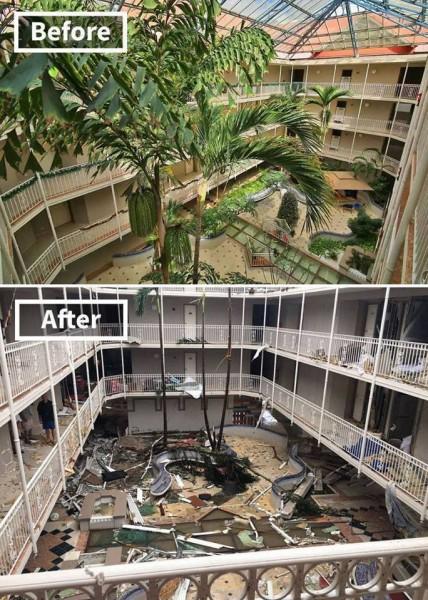 ماذا فعل اعصار إرما في ولاية فلوريدا؟