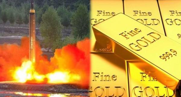"""""""نووي"""" كوريا الشمالية يرفع أسعار الذهب عالميًا"""