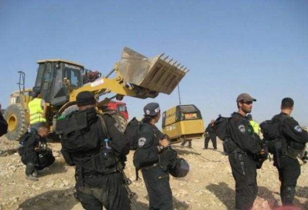 جرافات الاحتلال تهدم العراقيب للمرة 118