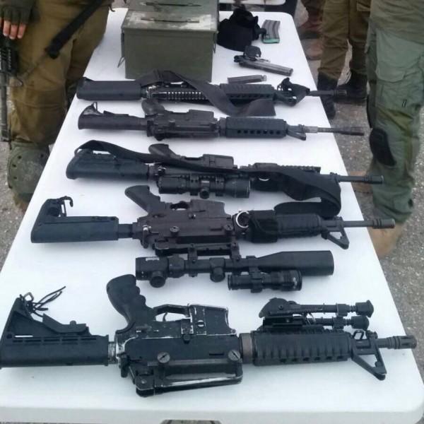 الاحتلال يصادر أسلحة وذخيرة من نابلس