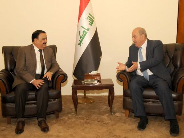 علاوي يثمن بطولات الجيش العراقي ويدعو للحفاظ على هيبته وسجله الحافل بالانجازات