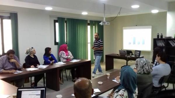 ورشة عمل تدريبية حول استخدام وسائل التواصل بالترويج للحملات الإعلامية