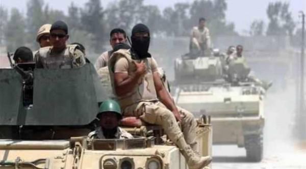 مصرع جندي مصري و3 مسلحين في هجوم بسيناء