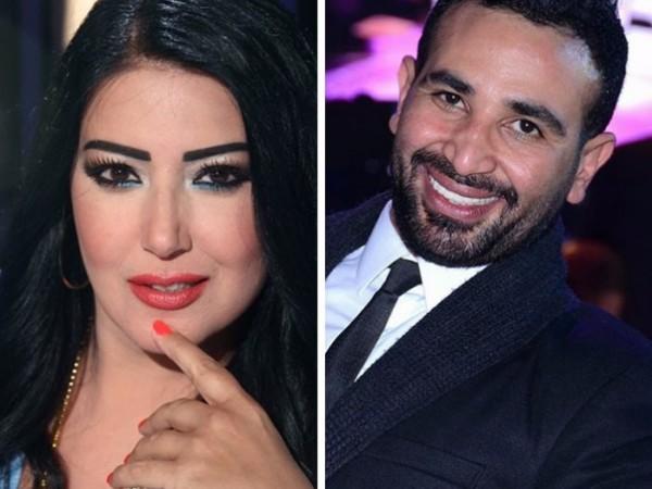 خطوة جريئة تُثبت زواج سمية الخشاب وأحمد سعد سراً
