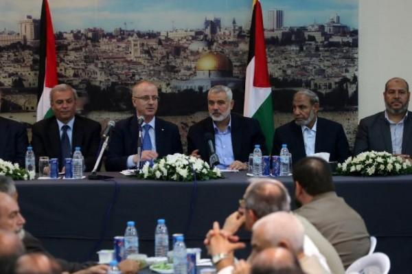 حماس: نرحب بقدوم الحكومة لقطاع غزة ونتمنى لها النجاح