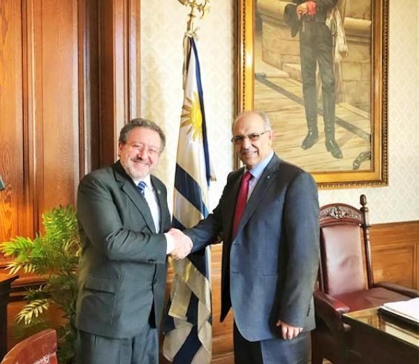 السفير عبد الرحيم يبحث آفاق التعاون القضائي