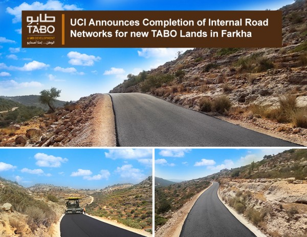 UCI Announces Completion of Internal Road Networks for new TABO Lands in Farkha