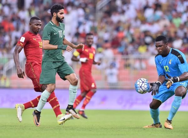 السعودية تخسر بالثلاثة وديًا أمام غانا