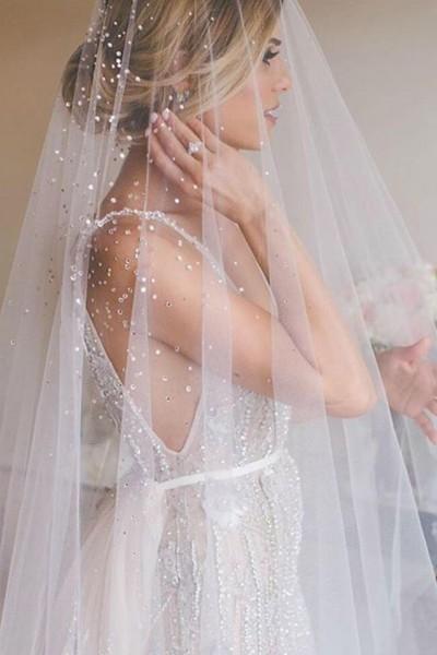 أحدث صيحات طرح الزفاف لعام 2018