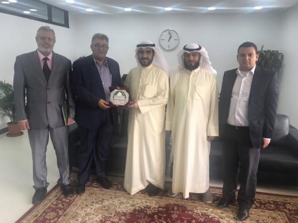 صندوق ووقفية القدس يختتم زيارته لدولة الكويت