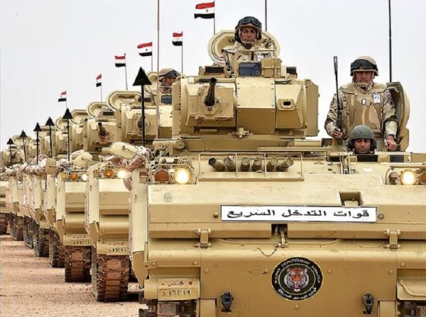 القوات المصرية تنفذ عملية عسكرية وتقضي على بؤرة لعناصر مسلحة بسيناء
